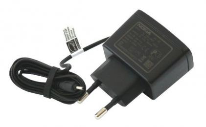 Nabíječka Nokia AC-3E (2 mm konektor) černá