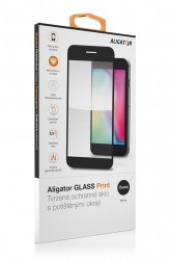 Tvrzené sklo Aligator 9H pro Huawei Nova 5T/Honor 20 černé