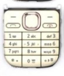 Klávesnice pro Nokia C2-01 OEM zlatá