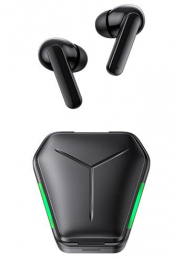 Bezdrátová sluchátka USAMS JY01 TWS černo-zelená