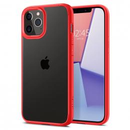 Pouzdro Spigen (ACS01704) Ultra Hybrid pro Apple iPhone 12/12 Pro Red