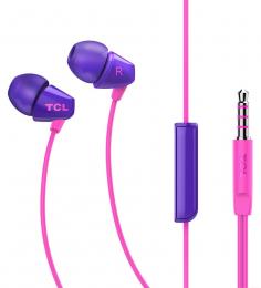 Sluchátka TCL SOCL100 s 3.5mm jack konektorem fialová