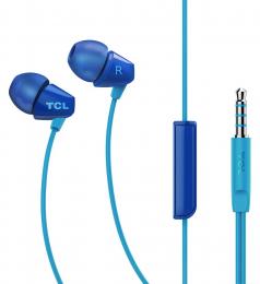 Sluchátka TCL SOCL100 s 3.5mm jack konektorem modrá