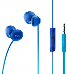 Sluchátka TCL SOCL300 s 3.5mm jack konektorem modrá