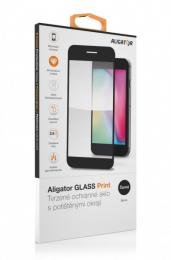 Aligator ochranné sklo 2.5D 9H pro Xiaomi Redmi 9 černé