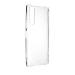 Pouzdro FIXED TPU pro Sony Xperia 1 II čiré