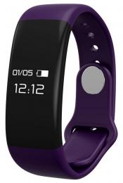 Chytrý náramek CUBE1 SmartBand H30 fialový