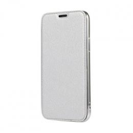 Pouzdro Electro Book pro Apple iPhone 6/6S Plus stříbrné