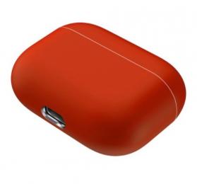 Silikonové pouzdro pro Apple Airpods Pro korálové