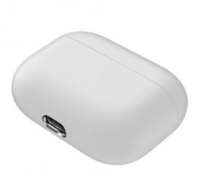 Silikonové pouzdro pro Apple Airpods Pro bílé