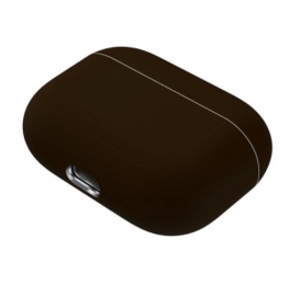 Silikonové pouzdro pro Apple Airpods Pro tmavě hnědé