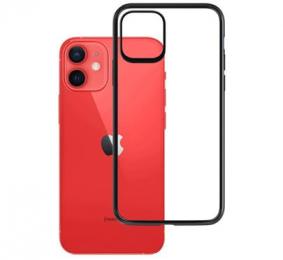 Pouzdro 3mk Satin Armor Case pro Apple iPhone 13 čiré