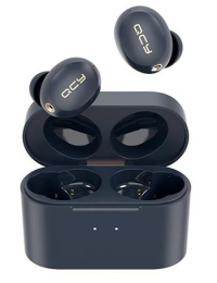 Bezdrátová sluchátka QCY HT01 TWS modrá