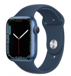 Apple Watch (MKN13HC/A) Series 7 41mm GPS Blue Abyss/Blue