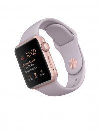 Apple Watch Sport 38mm Rose Gold - Lavender CPO 12 měsíců záruka