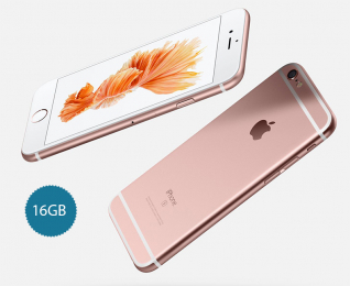 Apple iPhone 6S 16GB Rose Gold - speciální nabídka