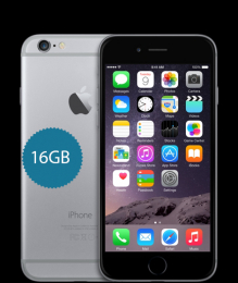 Apple iPhone 6 16GB Space Grey CPO - 12 měsíců záruka
