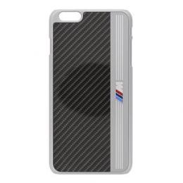 BMHCP6MEB BMW Signature Aluminium Stripe Black Zadní Kryt pro iPhone 6 4.7