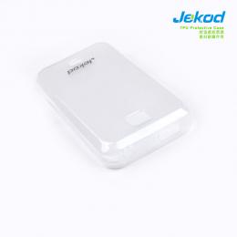 Jekod  TPU ochranné pouzdro White pro Samsung C6712
