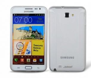 Jekod TPU pouzdro White pro Samsung Galaxy Note N7000