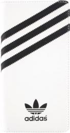 Pouzdro Adidas Book Sony E2303 Xperia M4 Aqua bílé