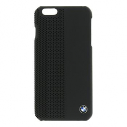 Pouzdro BMW Hard Case Perforated iPhone 6 Plus černé
