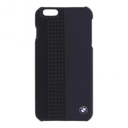 Pouzdro BMW Hard Case Perforated iPhone 6 Plus modré
