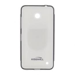 Pouzdro Kisswill TPU Nokia Lumia 640 černé