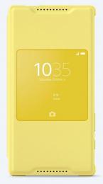 Pouzdro Sony SCR44 Xperia Z5 Compact žluté