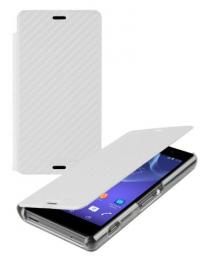 Roxfit pouzdro Folio pro Xperia T3 Carbon White