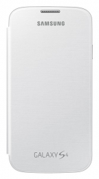 Samsung EF-FI950BWEG White flip pouzdro Galaxy S4