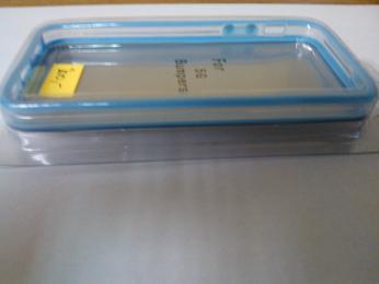 iPhone 5 OEM Bumper Light Blue Transparent