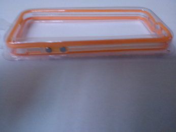 iPhone 5 OEM Bumper Orange Transparent