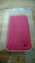 MORE Diamond Collection - Ruby Pink iPhone 4