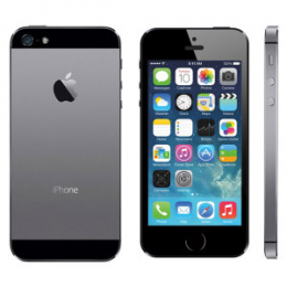 Apple iPhone 5S 32GB Space Grey- nový kus vyměněný v rámci reklamace