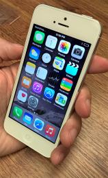 Apple iPhone 5 16GB White Repasovaný telefon, záruka 12 měsíců