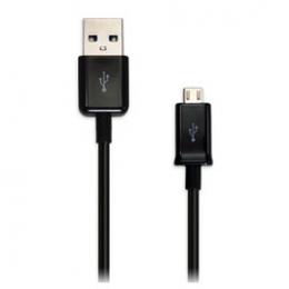 ECBDU4ABE Samsung microUSB Datový Kabel Black (Bulk)