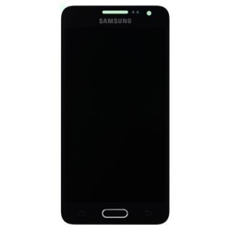 LCD display + Dotyk Samsung A300F Galaxy A3 Black (Service Pack)