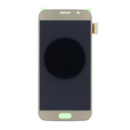 LCD display + Dotyk Samsung G920 Galaxy S6 Gold (Service Pack)