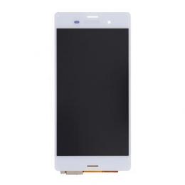 LCD Display + Dotyková Deska White Sony D6603 Xperia Z3