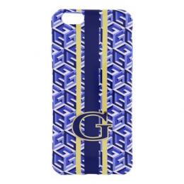 GUHCP6GCUBL Guess G-Cube TPU Pouzdro Blue pro iPhone 6 4.7