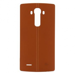 CPR-110 LG Kožený Zadní Kryt Brown pro H815 G4 (Bulk)