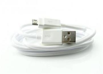 EAD62329704 LG datový kabel microUSB White (Bulk)