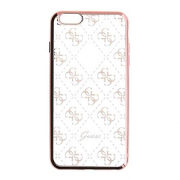 GUHCPSETR4GRG Guess 4G TPU Pouzdro Rose Gold pro iPhone 5/5S/SE