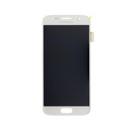 LCD display + Dotyk Samsung G930 Galaxy S7 Silver (Service Pack)