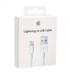 ME291ZM/A iPhone Lightning Datový Kabel 0,5m White (EU Blister)