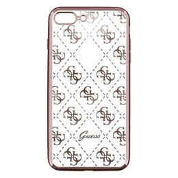 GUHCP7LTR4GRG Guess 4G TPU Pouzdro Rose Gold pro iPhone 7 Plus