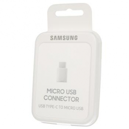 EE-GN930BWE Samsung Adapter Type C/micro USB White (EU Blister)