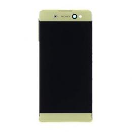 LCD Display + Dotyková Deska + Kompletní Kryt Gold Sony F3211 Xperia XA Ultra (Service Pack)