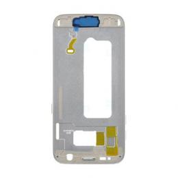Samsung G930 Galaxy S7 Střední Díl Silver OEM